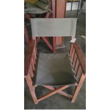 RECOVERING WOODEN DIRECTOR CHAIR